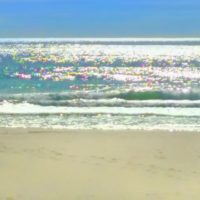 sparkly seascape